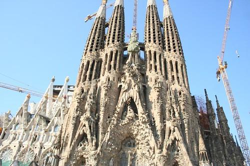 Templo Expiatório da Sagrada Família Barcelona Espanha