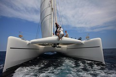 Catana 90 (Mad Mariner) Tags: ocean sea sailboat boats barcos catamaran orion boating yachts megayacht catana onthewater catana90