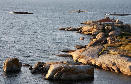 Faro e cons de Punta Cabalo