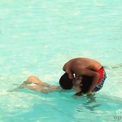 69 Unconventional Kiss (Osvaldo_Zoom) Tags: sea summer italy beach seaside bravo kiss couple lovers ali sicily 69 nima cool~ etnaland unconventional