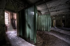It's Curtains. (Romany WG) Tags: urban abandoned beautiful hospital decay explorer westpark asylum derelict urbex hauntingly