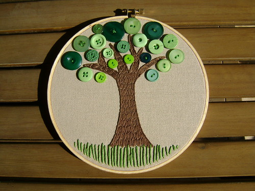 Button tree por thejoysofjess.