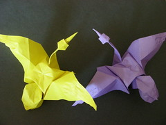 Origami Crane (Design by Eric Joisel)