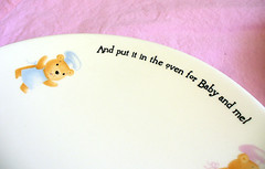 And put it in the oven for Baby and me! (LilBooBear) Tags: baby cute infant adorable charming teddybears nurseryrhyme feedingset nurseryset andputitintheovenforbabyandme bakerbears