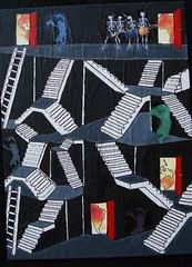 Skeleton's in the Closet (Urban Benz) Tags: art canvas skeletons escher