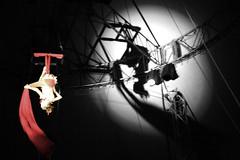la mgia del circ (brigadistak) Tags: circus bwc sombras circ espectacle cirk circcric gfb brigadistak