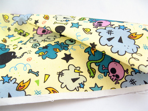 Meanie Pattern Fabric