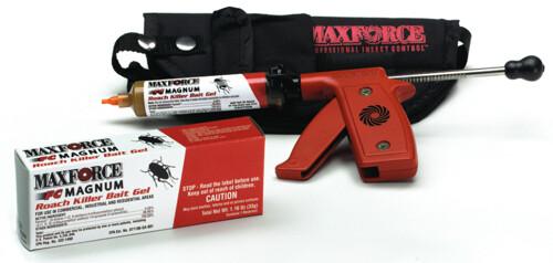 Envase y pistola de aplicación de Maxforce FC Magnum