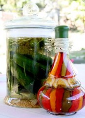 pickling vegetables