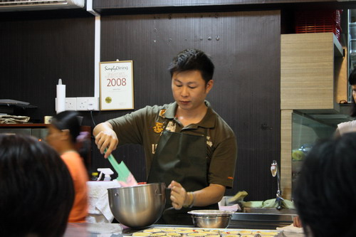 Sunny Yaw at Anna's Culinary Singapore A