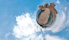 Saida and the Sea (Mohammed Farhat) Tags: old sea panorama lebanon century citadel saida 13th crusader spherical 460 x180
