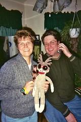 Michelle's Xmas Party 2004 (S.S.Poseidon) Tags: teresa sockmonkey barbiedoll michellek danw