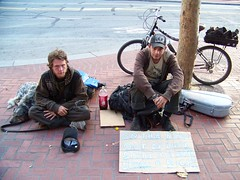 50 cents (D.C.Atty) Tags: poverty sanfrancisco people urban bargain empathy sparechange beggers mendicants spangers outofluck outcasted