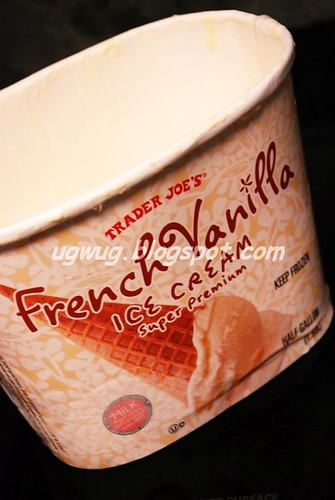 Trader Joe's French Vanilla Super Premium Ice Crea