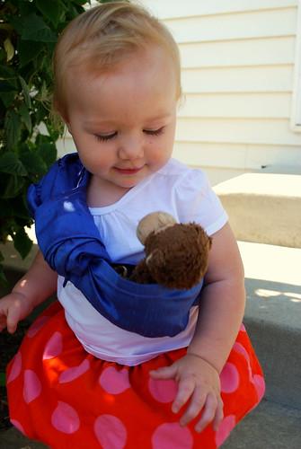 Wearing Her Monkey