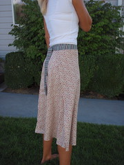 thelma wrap skirt