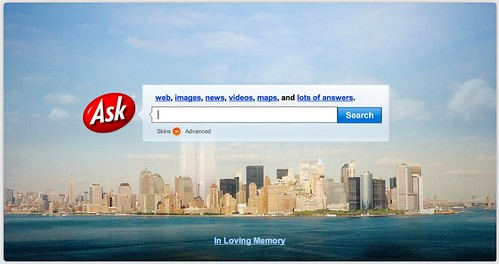 Ask.com 9/11 Remembrance