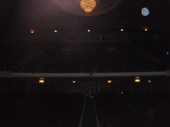 Theatre ceiling (Carrie and Charles) Tags: wedding genesee venues genessetheatre