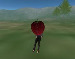 I wear Apple (Waya-yashi) Tags: apple sculpted prim betagrid
