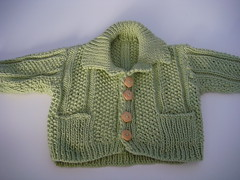 Handmade cardigan from the wife of grahad