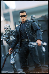 Terminators (EdwardLee's collection) Tags: 2 canon movie toy toys actionfigure robot day action arnold schwarzenegger collection figure terminator judgment t2 mcfarlane neca t800 endoskeleton 400d edwardlees