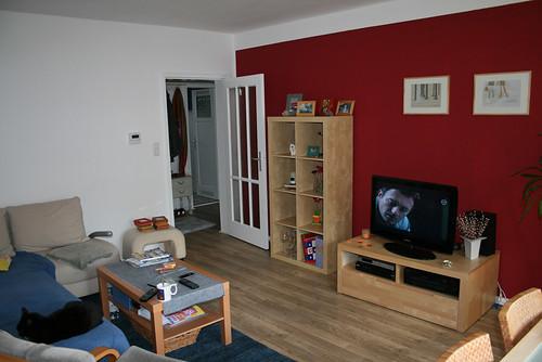 Wohnzimmerwand - welche Farbe?