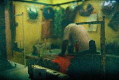 Klang Little India : Saree shop (Liyin Yeo of Liyin Creative Studio) Tags: crossprocessing photowalk littleindia klang selangor filmgrain expiredfilm gtn konicachrome200 wideangleconvertorlens liyincreative liyin yeo lukisholic liyincreativecom wwwliyincreativecom