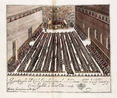 003- El Gran Consejo de la Republica Veneciana-Habiti d'hvomeni et donne venetiane 1609
