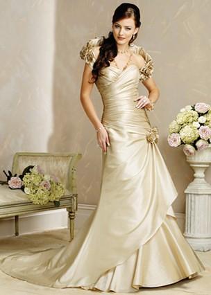 vestidos creme noiva