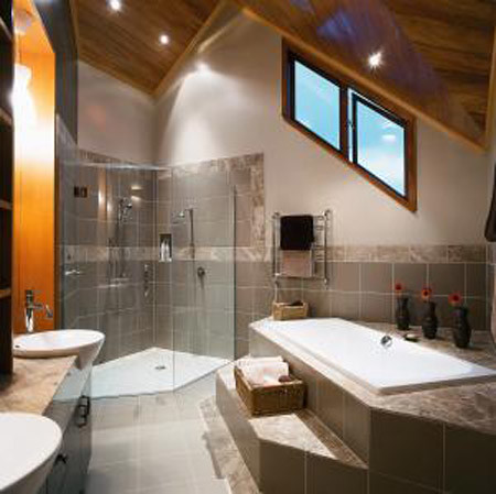 High exposure - House Design - Bathroom, Architecture, Modern House Design, Interior Design