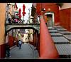 ~santo café~ (uteart) Tags: street bridge café mexico puente centro medieval guanajuato historiccenter utehagen uteart 2levels santocafe theauthorsplaza