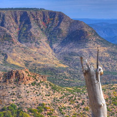 Mogollon Rim (kevin dooley) Tags: road red arizona orange cliff sout