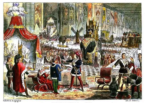 016-El voto del faisan en Lille 1454-Collectionneur lillois Edouard Boldoduc  1895