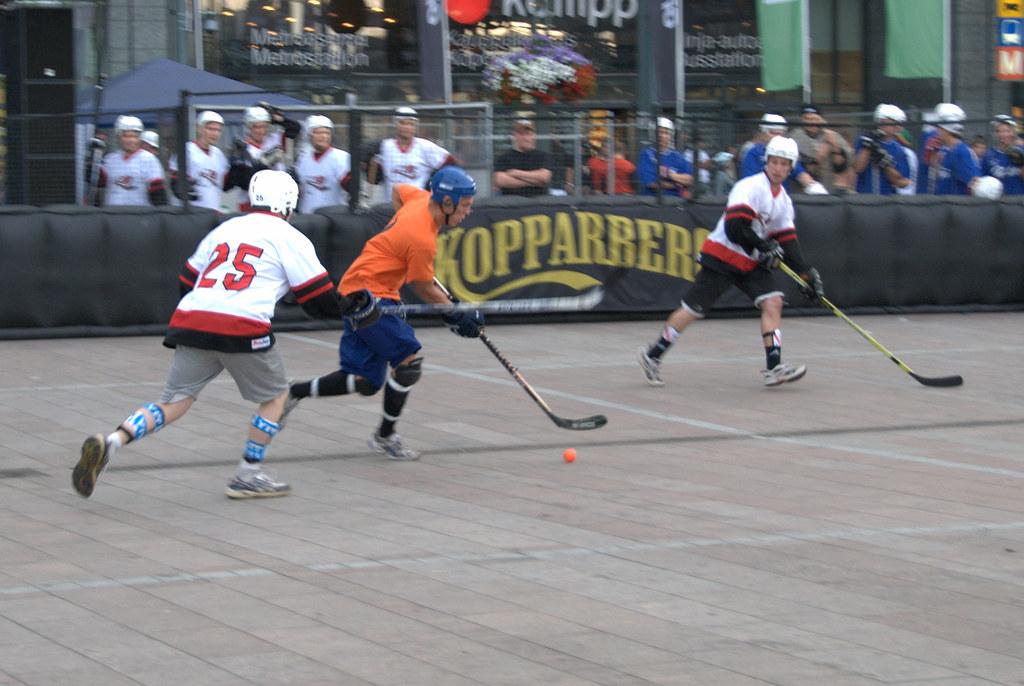 Roller Hockey Match