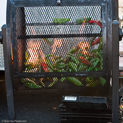 Roasting Peppers (Culinary Fool) Tags: fall fruits vegetables farmersmarket produce universitydistrict culinaryfool udist 2470mm28 udfm
