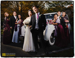Rock the Rolls (Ryan Brenizer) Tags: wedding portrait newyork groom bride nikon longisland groupshot d3 chinesewedding greenvale strobist 2470mmf28g flashcomposite williamandkaty