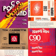 Funky Cassette Inserts No. 4 (Mike Gerrish) Tags: music art design graphics europa punk funky philips glam 1970s tapes audio hifi cassettes c120 johnpeel c60 c90 c30 compactcassette powersound happytape tdksd