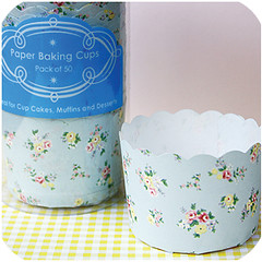 Sweet Flower Cupcake Cases (Amanda Krueger) Tags: party flower cooking floral paper print liberty baking case cupcake pan mold muffin supplies disposable supply liner liners pattypan bakeitpretty
