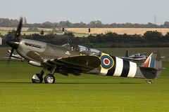 G-LFIX - ML407 - CBAF.8463 - Private - Supermarine 509 Spitfire T9 - Duxford - 060903 - Steven Gray - CRW_6343