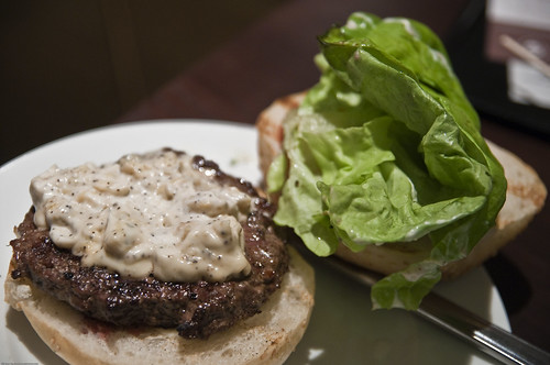 Interior - Aberdeen Angus Burger with Blue Cheese Dressing
