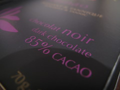 85% cocoa chocolate