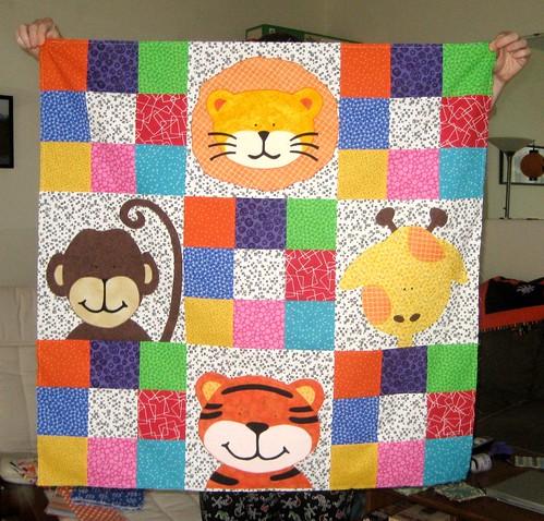 Help!: WIP-Zoe's Jungle Quilt