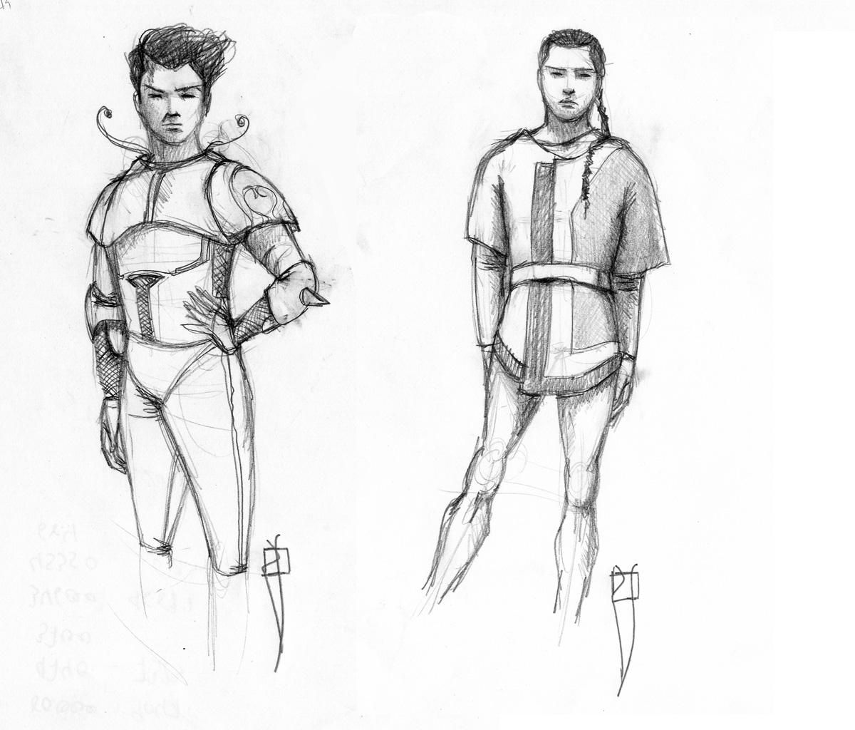 men's sketches