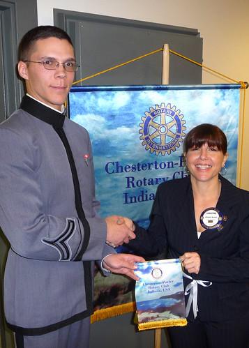 Daniel Baughman, West Point Cadet