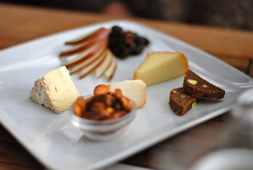 Cheese Plate with Fig Sides @ The Girl and the Fig