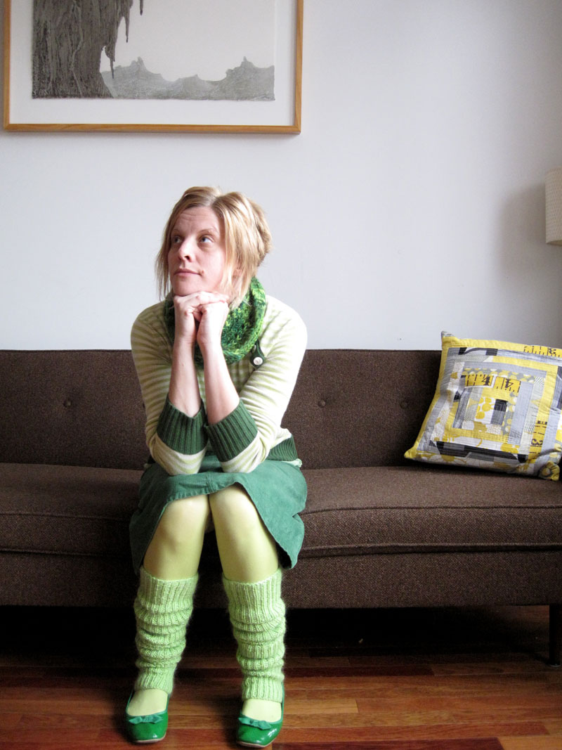 legwarmers: green (blog only)