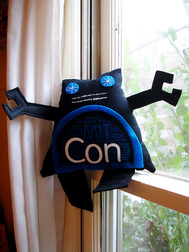 A Plush A Day Challenge: Day 18 - ConBot