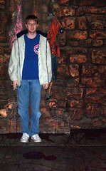 San Francisco - Wax Museum - The Chamber Of Horrors - Me (jared422_80) Tags: sf sanfrancisco california ca statue cali museum october san francisco honeymoon wharf chamber fishermans wax 2009 horrors the of