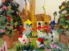 Alice in Paperland (PhiekuPhieku) Tags: paper origami paperfolding papercraft