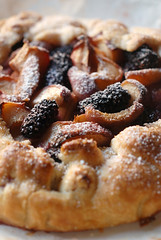 karaka blackberry and peach galette© by Haalo